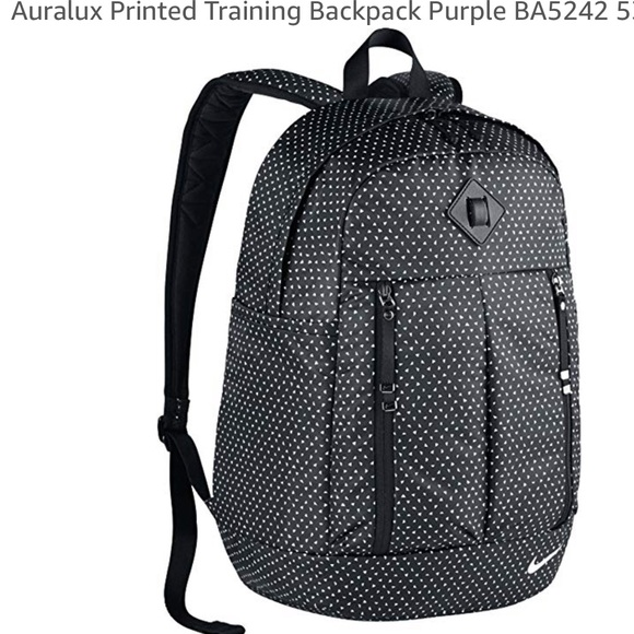 c2262720ff8 Nike Bags   Auralux Printed Training Backpack   Poshmark